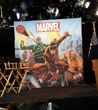 Imagem usada no evento de anúncio da parceria com o governo de Nova York