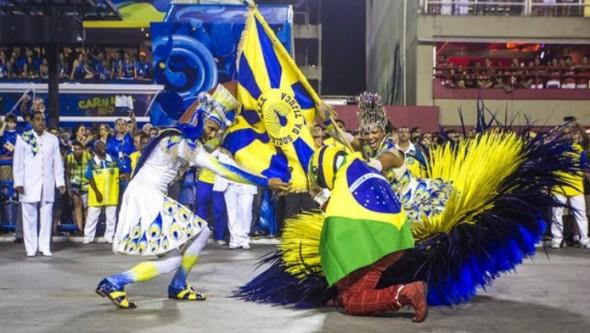 """""""Acelera Tijuca"""" foi o enredo da Unidos da Tijuca, campeã do Carnaval 2014 no Rio de Janeiro (Foto: Reprodução/Unidos da Tijuca)"""