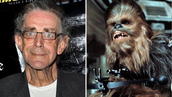 Peter Mayhew e Chewbacca (Getty Images)