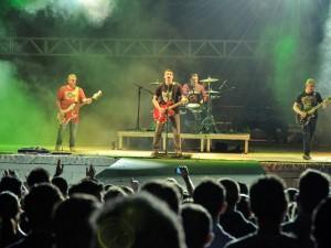 No terceiro dia de Expopato, quando a banda Resgate ocupou o palco principal, a CCO contabilizou um público de 9.421 pessoas (Foto: Helmuth Kühl)